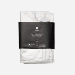 圧縮袋 衣類 | ag トラベル用圧縮袋 M 約35×42cm KEYUCA(ケユカ) (グッドプライス)|keyuca