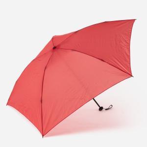 折りたたみ傘 軽量 | M 折畳傘 軽量 無地 レッド KEYUCA(ケユカ)|keyuca