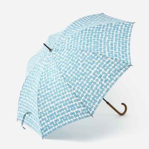 長傘 雨傘 | 長傘 晴雨兼用 スクラッチドット ターコイズブルー KEYUCA(ケユカ)|keyuca