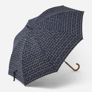 長傘 雨傘 | 長傘 晴雨兼用 スクラッチドット ネイビーブルー KEYUCA(ケユカ)|keyuca