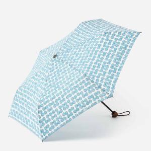 折りたたみ傘 レディース | 折畳傘 晴雨兼用 スクラッチドット ターコイズブルー KEYUCA(ケユカ)|keyuca