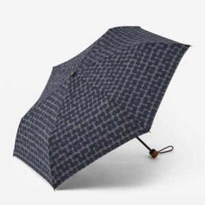 折りたたみ傘 レディース | 折畳傘 晴雨兼用 スクラッチドット ネイビーブルー KEYUCA(ケユカ)|keyuca