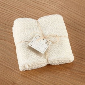 とうもろこし由来繊維と絹 BDT ボディタオル/バス用品/シルク/日本製 KEYUCA(ケユカ) keyuca