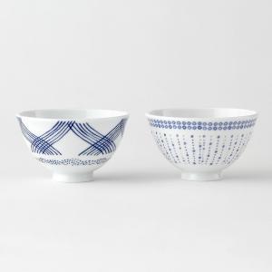 KEYUCA(ケユカ) 茶碗 ごはん茶碗 | 藍文様 軽量茶碗|keyuca