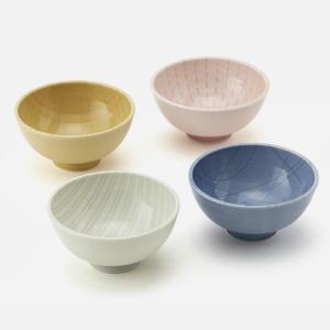 色ごとに模様が異なるお茶碗です。 パーソナルなアイテムだからこそ、お気に入りの色や模様の飯碗でごはん...