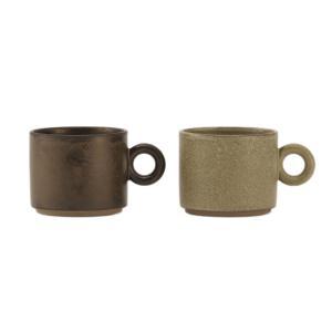 マグカップ 陶器 | 中空 ハンドルマグ KEYUCA(ケユカ)|keyuca