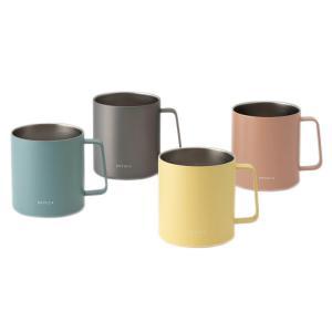 マグカップ コーヒーカップ コップ カップ ステンレス 保温|BEIL ステンレスマグ 370ml ...