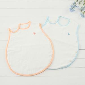 デリケートな赤ちゃんのお肌にも安心して使える、今治タオル生地を使用したスリーパーです。 精紡交撚糸を...