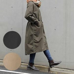レインコート レディース | 晴雨兼用ノーカラーモッズコート 軽量 KEYUCA(ケユカ)|keyuca