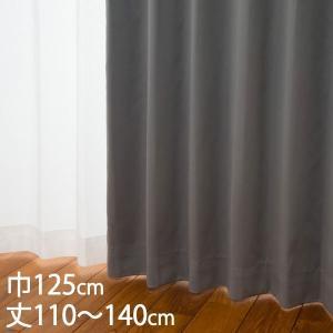 遮光1級 ウォッシャブル 防炎 遮熱 (断熱効果率57.5%)  サイズ:巾125×丈110〜140...