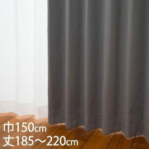 遮光1級 ウォッシャブル 防炎 遮熱 (断熱効果率57.5%)  サイズ:巾150×丈185〜220...