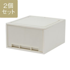 衣装ケース プラスチック Clotze M 24 II 2個セット 送料込み KEYUCA ケユカ 引き出し 収納 W40×D44×H24cm|keyuca