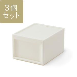 KEYUCA(ケユカ) 収納ボックス 収納ケース | スタックシステムケース L 3個セット|keyuca