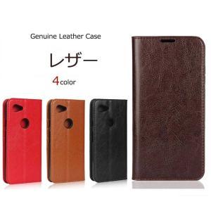 Pixel 3a ケース 手帳型   Genuine Leather  本革 皮革  google カバー 手帳 ピクセル3a pixel3a  スタンド グーグル カード レザー スマホケース|kfstore