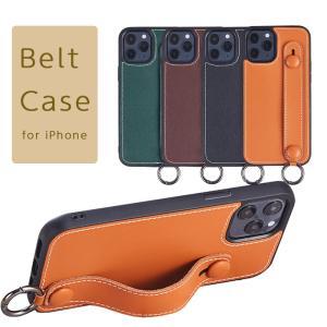 iPhone12 ケース ステッチベルト iPhone 12 mini iPhone 12 Pro ベルト カバー アイフォン12 12ミニ 12プロ スマホケース|kfstore
