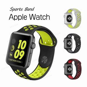 ●Apple watchバンド ●高品質なシリコン素材で作られているため、耐久性が高く、手触りも良い...