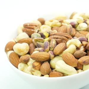厳選 5種の ミックスナッツ 無添加 無塩 お試し 100g 素焼き ナッツ (送料無料)