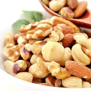 極旨 5種の ミックスナッツ 無添加 無塩 お試し 100g 素焼き ナッツ 送料無料 ポイント消化|kfvfruit