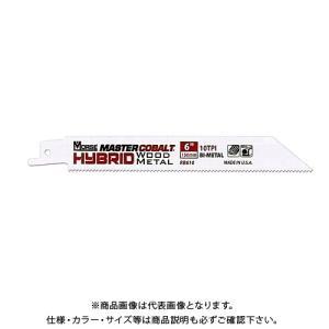 M.K. モールス マスターコバルト・ハイブリッド・バイメタル・セーバーソー・ブレード(木材・金属用)RB125010T05|kg-maido