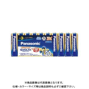 パナソニック エボルタ単3 20個パック シュリ...の商品画像