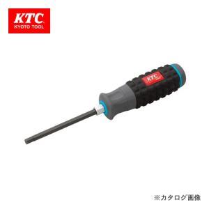 KTC 樹脂柄ヘキサゴンドライバ(インチ) D1H-1/4|kg-maido