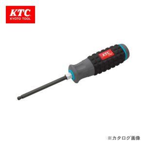 KTC 樹脂柄ボールポイントヘキサゴンドライバ(インチ) D1H-1/8BP|kg-maido