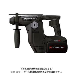 (イチオシ)パナソニック Panasonic 充電ハンマードリル 電池2個・充電器・ケース付 (黒) EZ7881PC2S-B kg-maido
