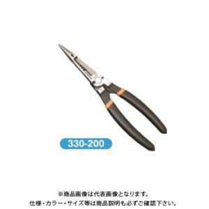 フジ矢 メカニックラジオペンチ 200mm 330-200|kg-maido