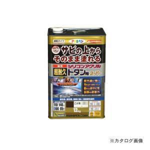 <title>クリアランスsale!期間限定! アサヒペン AP 油性超耐久シリコンアクリルトタン用 12kg こげ茶</title>