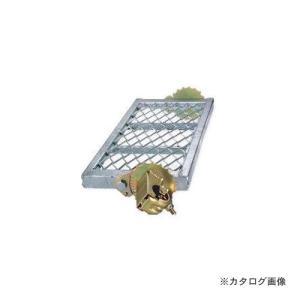 運賃見積り 直送品 伊藤製作所 123 自在ステップ メッシュ 600巾 1台 ST-6MF|kg-maido