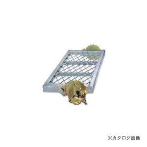運賃見積り 直送品 伊藤製作所 123 自在ステップ メッシュ 900巾 1台 ST-9M4|kg-maido