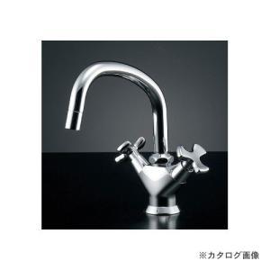 <title>AL完売しました。 カクダイ KAKUDAI 2ハンドル混合栓 150-424</title>