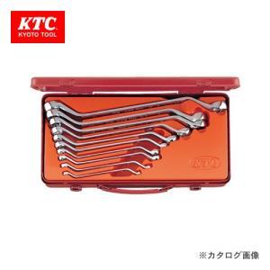 KTC 日本産 45°ロングめがねレンチセット 10本組 M2510 正規品