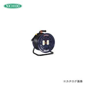 (イチオシ)日動工業 電工ドラム 標準型100Vドラム 2芯 50m NF-504D|kg-maido