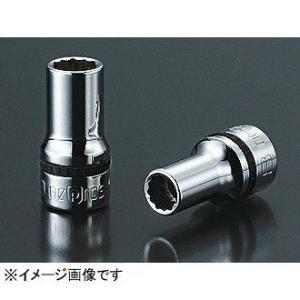 ネプロス KTC nepros 9.5sq.セミディープソケット(十二角) NB3M-10W|kg-maido