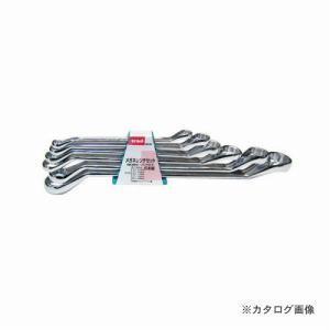 三共 TRAD 6pcメガネレンチセット #8-24|kg-maido