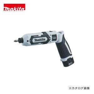 (イチオシ)マキタ Makita 7.2V 1.5Ah 充電式ペンインパクトドライバ 白 バッテリー×2本・充電器・アルミケース付 TD022DSHXW|kg-maido