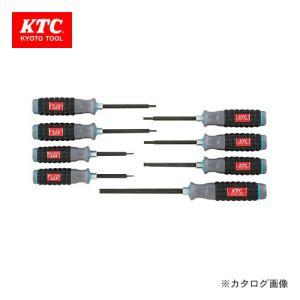 KTC 樹脂柄ヘキサゴン ドライバセット(8本組) TD1H8|kg-maido