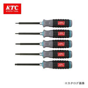 KTC 樹脂柄ボールポイント ヘキサゴンドライバセット(5本組) TD1HBP5|kg-maido