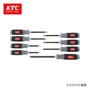 KTC 樹脂柄ボールポイント ヘキサゴンドライバセット(8本組) TD1HBP8|kg-maido