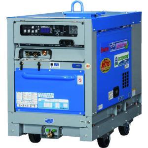 (直送品)デンヨー 防音型ディーゼルエンジン溶接機 DAT-300LSE kg-maido
