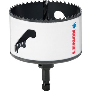 LENOX 倉 スピードスロット 軸付 バイメタルホールソー 118mm 5121051 お中元
