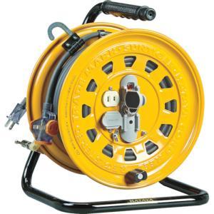 (運賃見積り)(直送品)ハタヤ 逆配電型コードリール マルチテモートリール 単相100V 47+6m TGM-150 kg-maido
