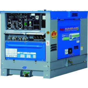 (直送品)デンヨー ディーゼルエンジン溶接機超低騒音型 DLW-200X2LSE kg-maido
