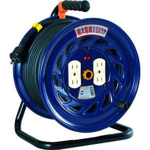 日動 電工ドラム 標準型100Vドラム 極太3.5 ケーブル2芯 MM2 至上 30m NF-304F 美品