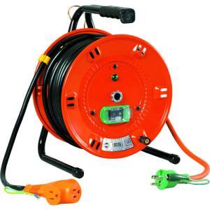 日動 電工ドラム びっくリール 100V アース漏電しゃ断器付 30m NL-EB30S kg-maido