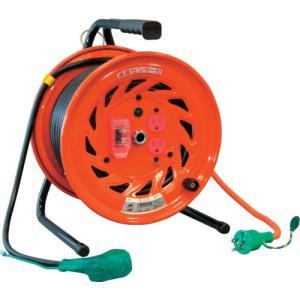 日動 電工ドラム びっくリール 100V アース過負荷漏電しゃ断器付 30m RND-EK30S kg-maido