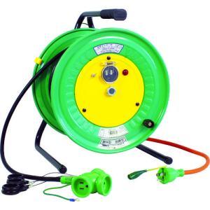 日動 電工ドラム 防雨防塵型びっくリール100V アース付 30m RBW-E30S kg-maido