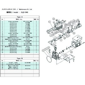 <title>ULVAC GLD-040用メンテナンスキットB 2020 新作 GLD-040 MAINTENANCEKIT B</title>