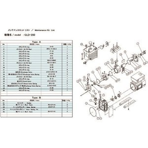<title>ULVAC メーカー公式ショップ GLD-280 280A 280B用メンテナンスキットA GLD-280A MAINTENANCEKIT A</title>
